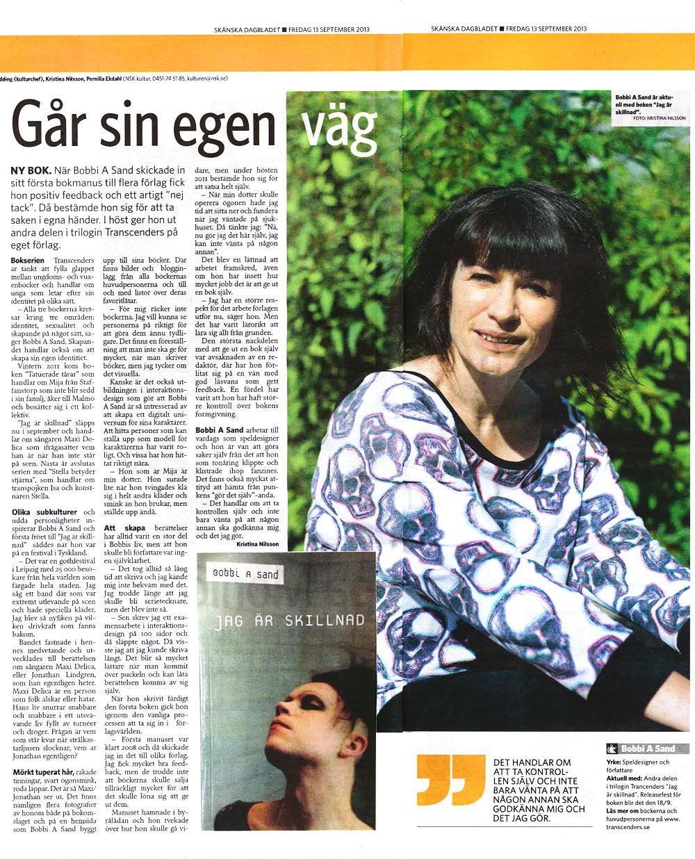 Skånska Dagbladet 130913