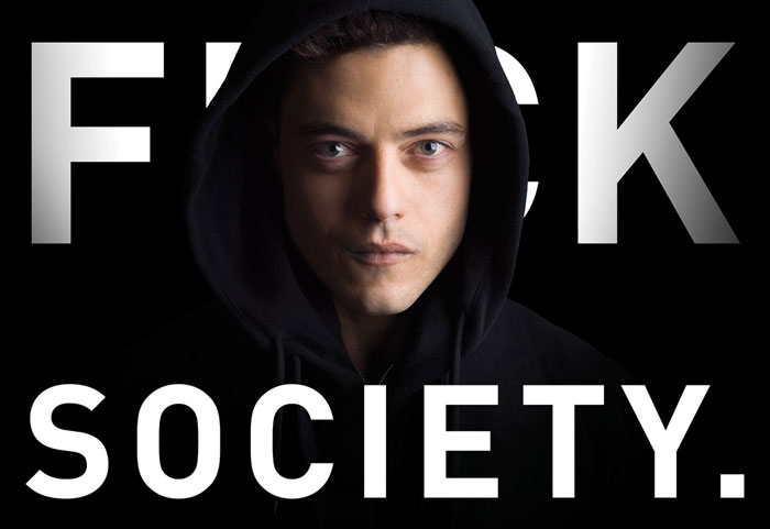 Mr Robot F-society